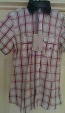 Men's Harry and sons short sleeve  shirt  BNWT RRP 69 euros  size 15 collar