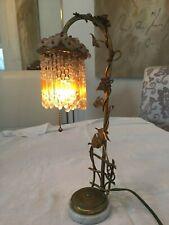 Vintage Victorian boudoir lamp