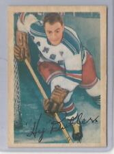 1953-54 Parkhurst Hockey Hy Buller Card # 58 Excellent Condition