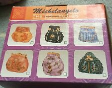 6 Brand New!! MICHELANGELO THE COLLECTION Handbags PORCELAIN TRINKET BOXES
