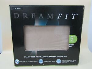 Dreamfit Degree 5 Bamboo Rich Sheets - Sand California King