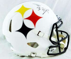 Ben Roethlisberger Autographed Steelers F/S AMP Authentic Helmet - Fanatics Auth