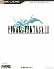 Final Fantasy III Official Strategy Guide (TP) Square E