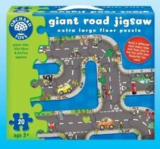 Orchard Toys 286 Giant Road Jigsaw Kids Childrens Puzzle 3 Yrs