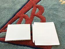 400 WHITE CARDBOARD DVD DVD-R CASE MAILER MAILERS JS90