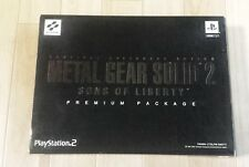 Metal Gear Solid 2 PS2 Premium Package Japan Limited ver. tested&working