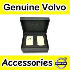 Genuine Volvo XC90 (16 -) carcasa llavero de cuero (rubia)