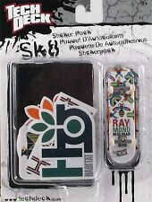 Tech Deck Sk8 Sticker Pack RAYMOND MOLINAR Fingerboard- New in Box-Free item