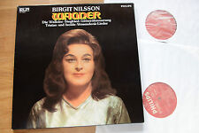 BIRGIT NILSSON singt WAGNER 2LP Philips  Walküre Siegfried Götterdämmerung