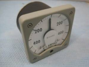 4809 Westinghouse KX-241 Amp Amperes Meter 3-85450 -400 to 400A NOS