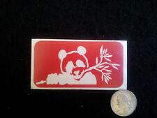 15  Panda glitter tattoo stencils