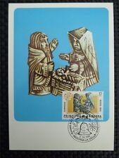 ANDORRA MK 1984 WEIHNACHTEN CHRISTMAS MAXIMUMKARTE CARTE MAXIMUM CARD MC CM c176