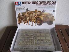 British LRDG Command Car North Africa von Tamiya im Maßstab 1:35 * NEU *