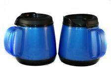 2 Foam Insulated 20oz Wide Body Thermoserv Mugs Blue Thermo Serv