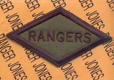 US Army Rangers Diamond WWII - OD