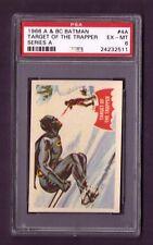 1966 A & BC BATMAN #4A PSA EX-MT 6 Target Of The Trapper Series A