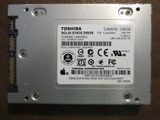 """Toshiba THNSNC128GBSJ FW:CJAA0201 Apple#655-1652B 128gb 2.5"""" Sata SSD"""