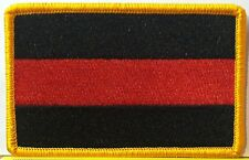 FIREFIGHTER FALLEN Flag Patch With VELCRO® Brand Fastener Military Emblem #2