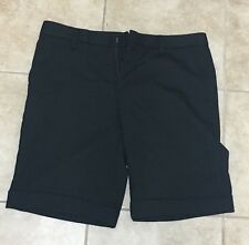 104331f490df5 UNIQLO Women Juniors Black Size 4 Bermuda Dress Shorts