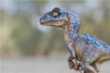 Dinosaur 19*14CM Jurassic World Standing Blue Velociraptor Baby Resin Statue NEW