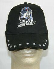 Womens Star Wars R2D2 Rhinestone Snapback Hat Cap
