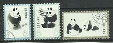 CHINA Stamps: 1963 PRC SC 708-10  Giant Panda Set  CTO Used
