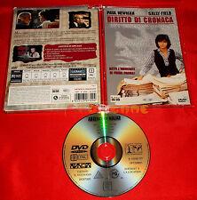 DIRITTO DI CRONACA (Paul Newman, Sally Field) Dvd Super Jewel Box - USATO - ET