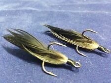 Xmarks Custom Feathered Trebles VMC 9650 BN 1x Strong Size 4 Golden Brown