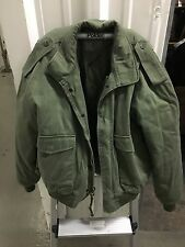 M-90 Pilot's Jacket Large Size L OD Olive green with liner