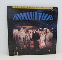 FORBIDDEN PLANET THE CRITERION COLLECTION RARE Laserdisc, Insert CAV CC1153L