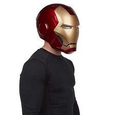 The Avengers Marvel Legends Iron Man Helmet Electronic Christmas Gift Cosplay N