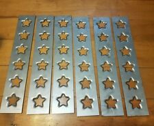 6 x Star Dimple die plates, lower control arms, roll cage, tubs, 90x500x1.2mm