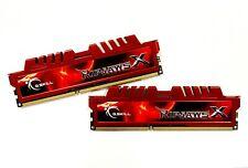 G.SKILL Ripjaws X 8GB (2x4GB) DDR3 2133MHz C11 240-Pin PC3-17000 RAM Memory