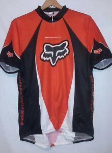 Fox Racing Mountain Bike Cycling Jersey vtg biking cycle (X-Large) XL