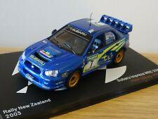 ALTAYA IXO SUBARU IMPREZA WRC 2003 RALLY NEW ZEALAND SOLBERG CAR MODEL LT01 1:43