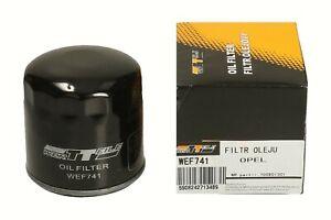 Ölfilter WEF741 WERTTEILE OPEL ASTRA F 1.7 TD ASTRA G 2.0 16V OPC