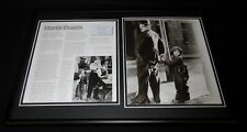 Charlie Chaplin Framed 12x18 Photo Display The Kid Shoulder Arms