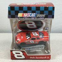2004 Trevco Dale Earnhardt Jr #8 Car Christmas Ornament NASCAR