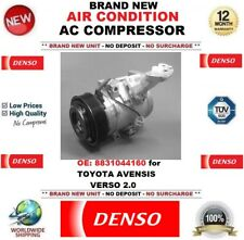 DENSO AIR CONDITIONING AC COMPRESSOR OE: 8831044160 for TOYOTA AVENSIS VERSO 2.0