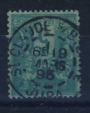 """FRANCE 1895 N°75 5c Sage T.II oblitéré cad """" St CLAUDE-s/BIENNE / JURA """""""