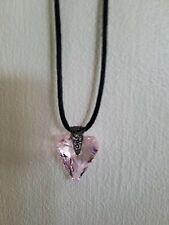 New ListingSwarovski Crystal Pink Heart Pendant