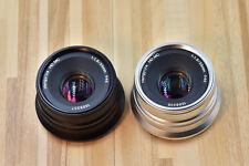 Hengyijia 35mm F/1.8 HD MC Manual Focus Lens f/ Olympus Panasonic Micro four