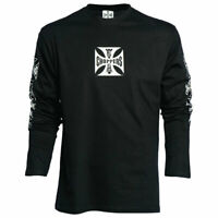 WCC Maltese Cross Long Sleeves T-Shirt Black