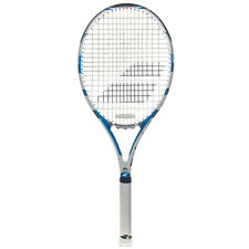 Babolat Drive Lite Tennis Raqcuet Blue White Strung with Cover Free Shipping