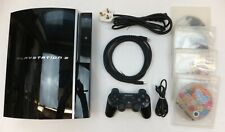 ORIGINAL 160GB CECH-G04 PLAYSTATION 3 PS3 CONSOLE PACKAGE + LEADS & 4 GAMES