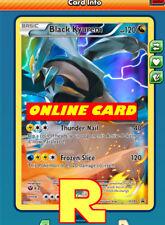 Black Kyurem - Promo XY80 - for Pokemon TCG Online ( DIGITAL ptcgo in Game Card)