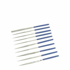 Silverline 633509 Diamond Needle File Set 10pce 140mm