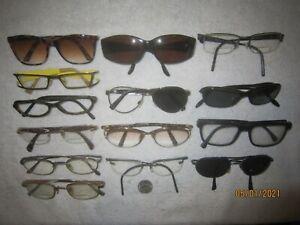 Mixed Lot of 14 Barcelona-Prada-AOS-bolle-Silhouette-Morel-Armani Eyeglasses BIG