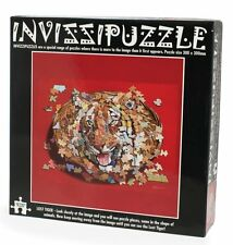 Unique LOST TIGER 300 piece jigsaw puzzle with Hidden Images NEW Invissipuzzle
