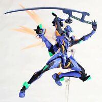 Revoltech Evangelion Evolution EV-017 EVA-01 Final Unit Figure Figurine In Box